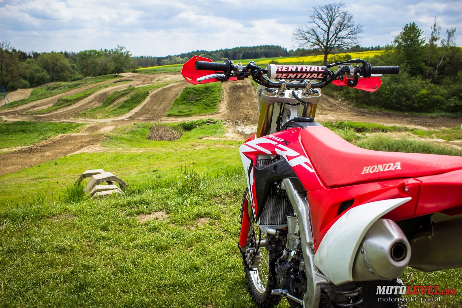 Honda CRF450R 2017 – RIDE RED!