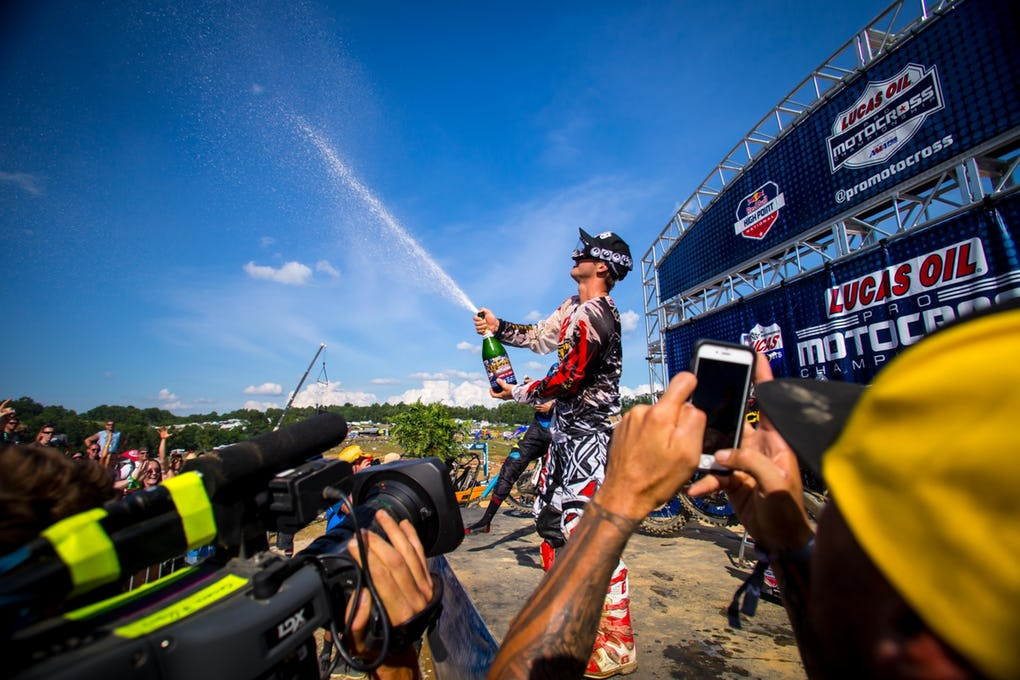 4. Lucas Oil Pro Motocross – High Point