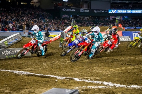 AMA Supercross 2020 Anaheim II – report