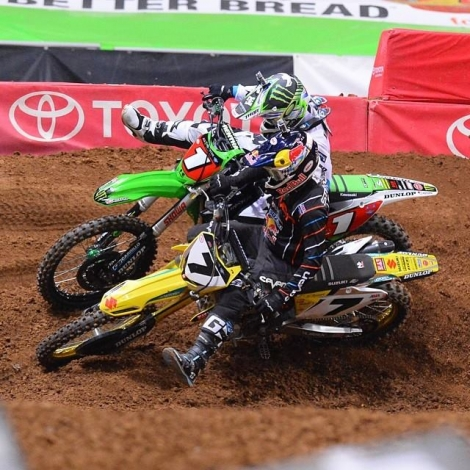 13. AMA SX Monster Energy 2014 – St. Louis REPORT