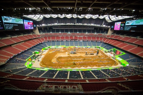 Monster Energy AMA Supercross pokračuje v Houstonu