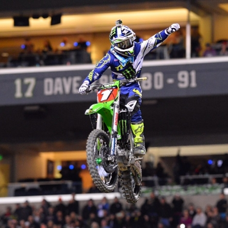 15. AMA SX Monster Energy 2014 - Seattle VÝSLEDKY