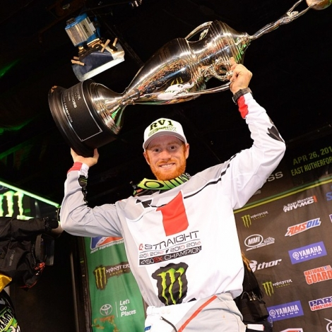 16. AMA SX Monster Energy 2014 - East Rutherford VÝSLEDKY