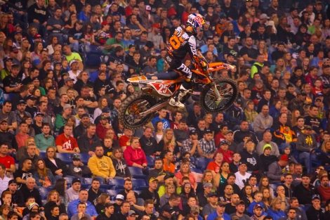 11. Monster Energy AMA SX Indianapolis 2015