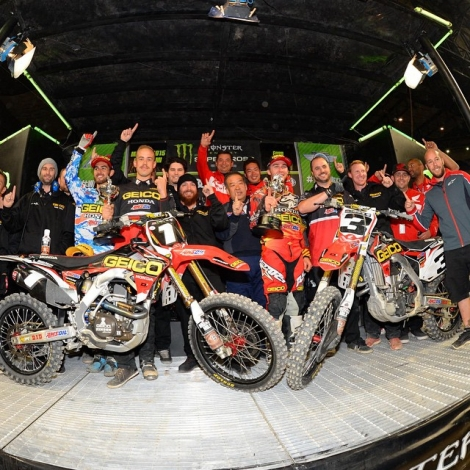 12. Monster Energy AMA SX Detroit 2015