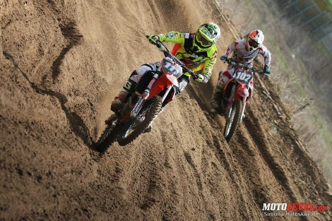 International motocross race in Piliscsév
