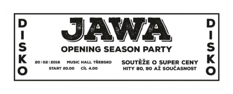 Pozvánka na Jawa opening season party!