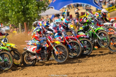 Video záznamy z 1. Lucas Oil AMA Pro Motocross 2016 Hangtown