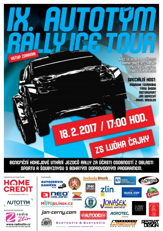 Kopecký s Dreslerem míří na Benefici Rally Ice Tour do Zlína