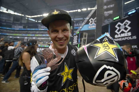 Libor Podmol ukořistil bronz na X Games Minneapolis 2017!